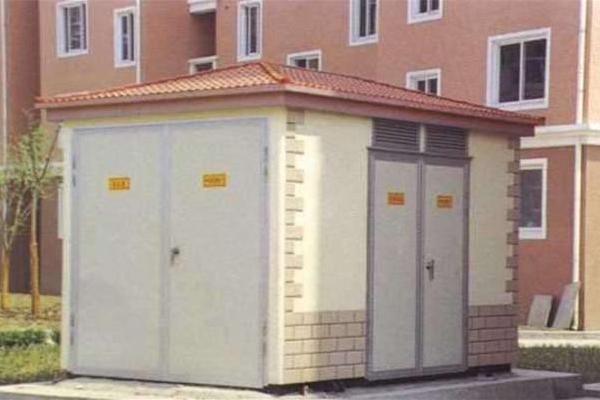 全封闭,可移动的钢结构箱,特别适用于城网建设与改造,是继土建变电站图片